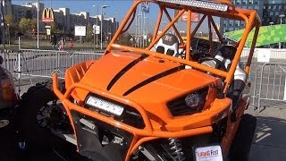 5. Kawasaki Teryx 750 FI 4x4 Sport (2012) Tuned - Exterior and Interior in Full HD 3D