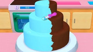 Fun Learn Cake Cooking & Colors Games For Kids - My Bakery Empire - Bake, Decorate & Serve Cakes