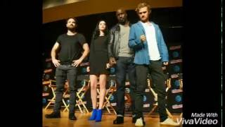 OS DEFENSORES aparecem juntos na NEW YORK COMIC-CON e apresentam sua Vilã.