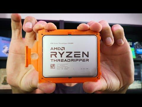 AMD Processeur, Ryzen Threadripper 2990WX, 32 Cores/ 64 Threads, 3/4,2 GHz (boos