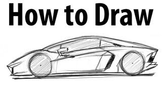 how to draw a sports car step by step easy videos