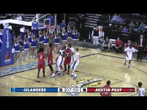 Highlights: Islanders MBB Defeats Austin Peay 61-48