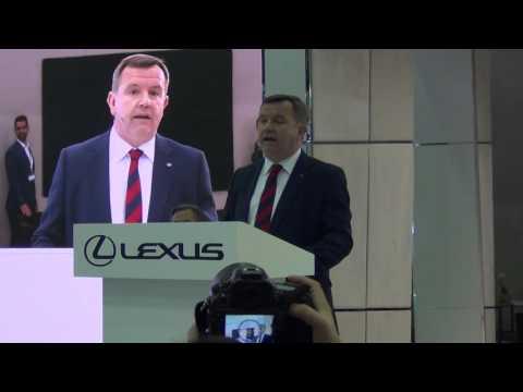Lexus - Dubai International Motor Show 2015