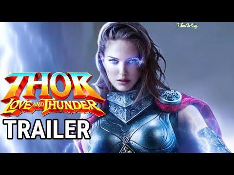 Thor: Love And Thunder Teaser Trailer   Jane Foster   Chris Hemsworth [Fan Made]