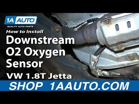How To Install Replace Downstream O2 Oxygen Sensor VW 1.8T Jetta