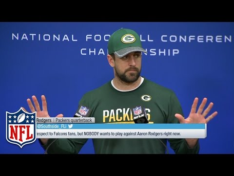 Video: Aaron Rodgers Championship Wednesday Presser,