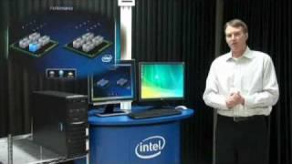Demonstração em Inglês: Intel Xeon 5500 - Nehalem - Performance Inteligente. [EN] Veja como esses processadores gerenciam...