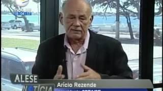 Jornal da ALESE entrevista Arício Resende