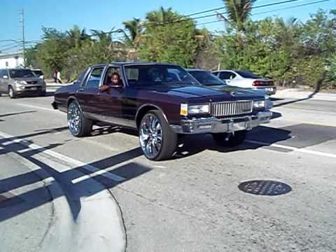 Box Chevy  on 26's- Sistrunk Fest 2011