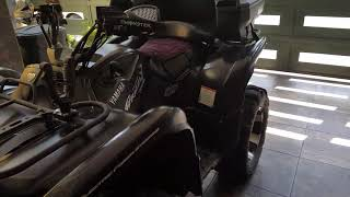 6. 2008 Yamaha Grizzly 700 Special Edition