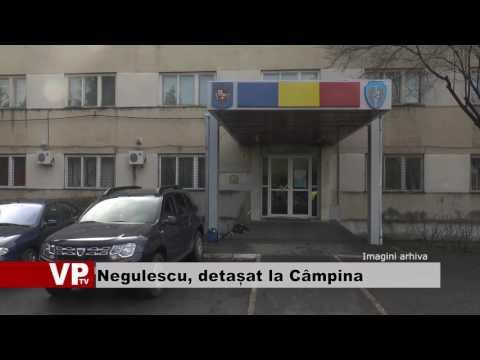 Negulescu, detașat la Câmpina