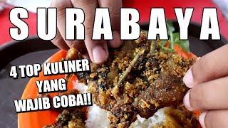 Video 4 TOP KULINER DI  SURABAYA YANG WAJIB COBA!!! MP3, 3GP, MP4, WEBM, AVI, FLV Februari 2019