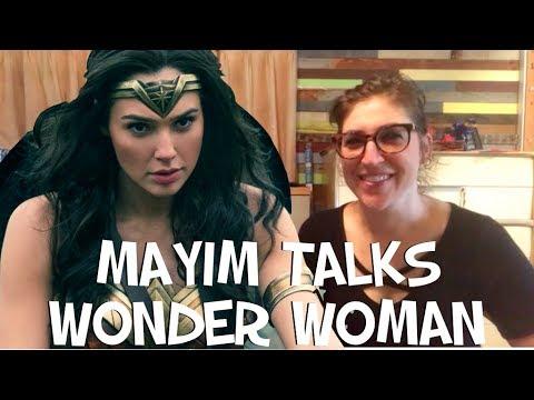 Mayim Talks Wonder Woman