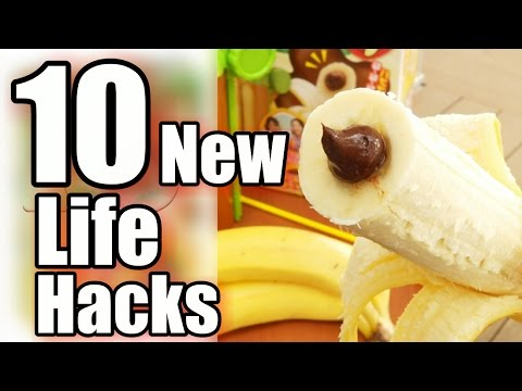 10 New Life Hacks - That You Didn