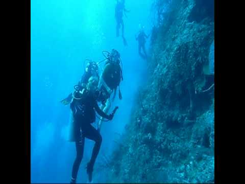 scuba diving - Scuba divers not checking air and run out and needed help. Dive within your limits!! In HD!