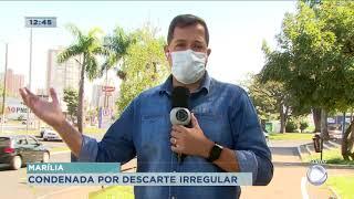TJ condena Marília por descarte irregular de lixo