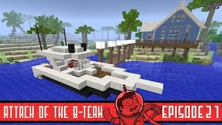 Minecraft Luxury Boat - Attack of the B-Team - 21