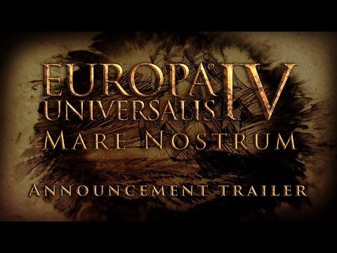 Europa Universalis IV: Mare Nostrum - Announcement