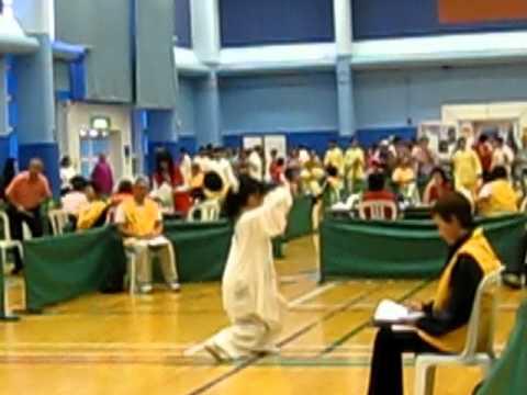 2011-10-9   姜九九 十九屆全港內家拳錦標賽 高級組冠軍