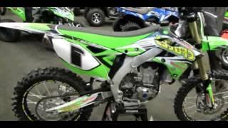9. 2014 Kawasaki KX 450F Motocross Walkaround