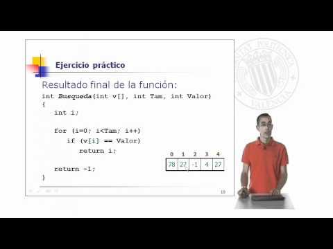 secuencial - Cómo desarrollar búsquedas secuenciales en vectores no ordenados. Ejemplo práctico de aplicación. Autor: Gil Gómez, Jose Antonio Autor: Universitat Politècni...