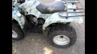 6. 2005 Yamaha Bruin 350 4x4