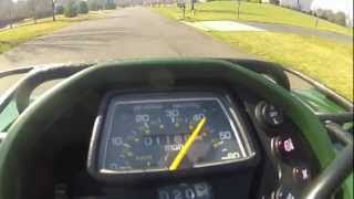 2. MMB-2011 Yamaha Grizzly 350 irs TOP SPEED RUN