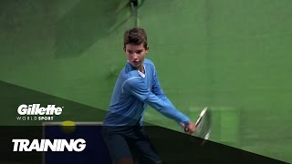 Subscribe to Gillette World Sport: http://bit.ly/GWSsub 2014 Under 12 Orangle Bowl champion Borna Devald speaks to Gillette World Sport about his ...