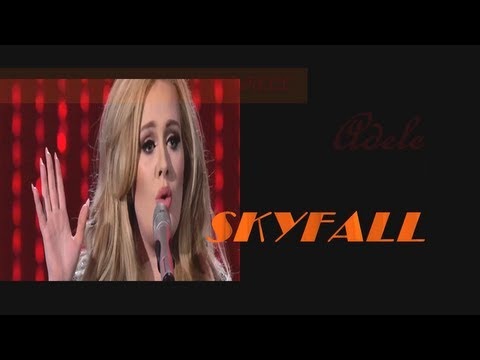 Adele – Skyfall ( live 2013 )( lyrics )
