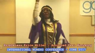 PROPHETESS ERICA MILLER- PROPHETIC DANCE!EXCITING CLIP FROM IWC JUNE 2017-INTERNATIONAL WOMENS CONFERENCE -ATLANTA 2017The prophetic dance will send chills down your spine!Watch out for the upload of the complete dance on myfaithtvnetwork YouTube channel!#IWCJUNE2017#INTERNATIONALWOMENSCONFERENCES2017#MYFAITHTVNETWORK#GOGLOBALCONFERENCES