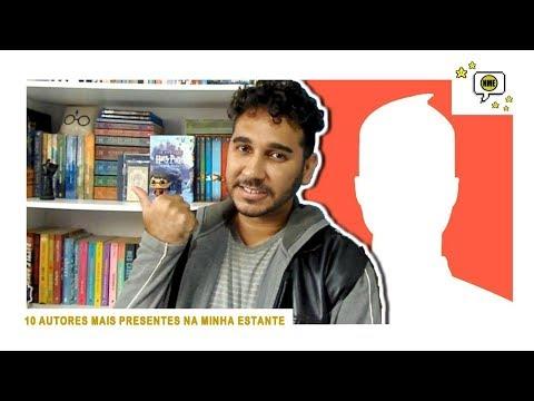 TOP10: Os Autores Mais Presentes na Estante | Na Minha Estante