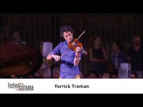 FESTIVAL INTERNACIONAL DE LA GUITARRA DE GRANADA 2018.  YORRICK TROMAN