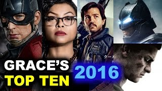 Top Ten Movies 2016 - Captain America Civil War, Batman v Superman, Rogue One by Beyond The Trailer