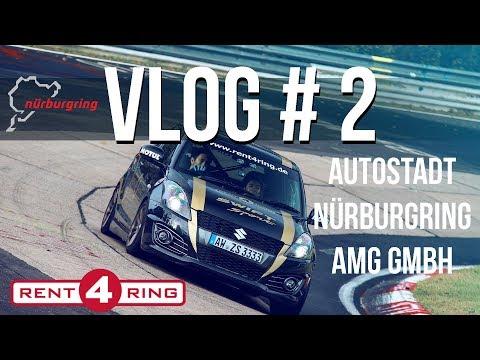 Vlog # 2 // Autostadt - Nürburgring - Mercedes AMG GmbH (4K)
