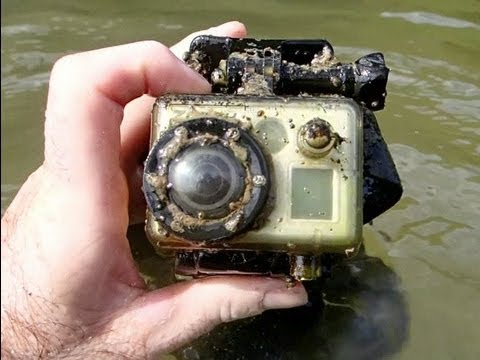 A man finds a GoPro underwater that filmed its demise [3:30]