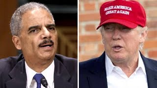 ERIC HOLDER LECTURES TRUMP ON THE CONSTITUTION, INSTANTLY GETS A DOSE OF REALITY!