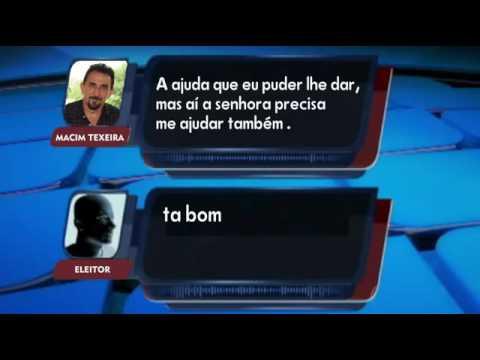 Áudio mostra candidato Macim Teixeira em possível compra de voto