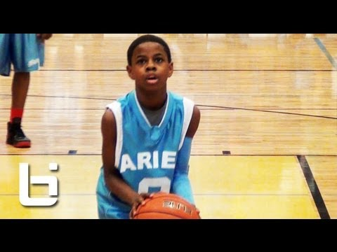4'11 Chase Adams has Better Handles Than You! Top Chicago 7th Grader Official Ballislife Mixtape. (видео)