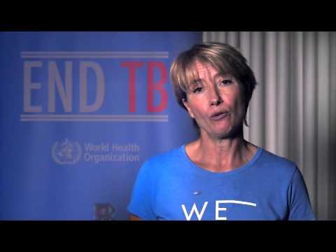 Ενωμένοι θέτουμε τέλος στη φυματίωση! Το μήνυμα της Emma Thompson
