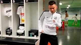 Confira os bastidores da vitória de 2 a 0 do Peixe sobre o Corinthians, na partida de ida das oitavas de final da Copa do Brasil...