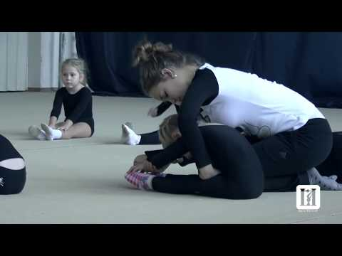Rhythmic Gymnastics Training\\  children / Кстово 15.11.2014 (видео)
