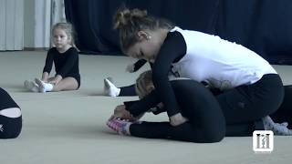 REAL training in Russian rhythmic gymnastics \ This is Russia - Rhythmic Gymnastics