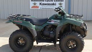 9. 2007 Kawasaki Brute Force 650 4x4 SRA Overview and Review  SOLD