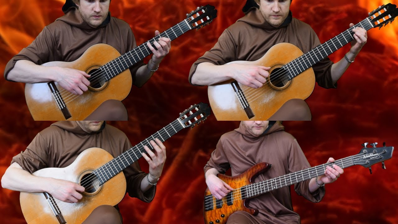 Gwyn, Lord of Cinder Theme – Dark Souls (Acoustic Classical Guitar Fingerstyle Cover)
