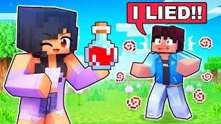 Using a TRUTH POTION on my Friends In Minecraft!