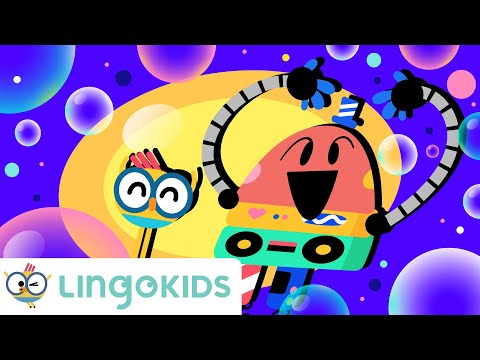 BUBBLES CHANT 🧼🙌🎵 Everybody wash your hands!   Lingokids