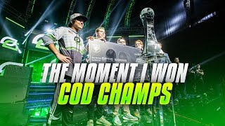 My Reaction To Winning CoD Champs