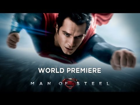 Download MAN OF STEEL -- World Premiere HD Mp4 3GP Video and MP3