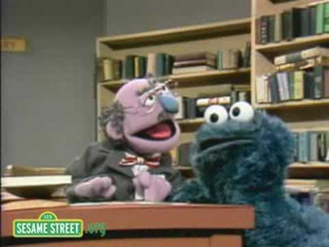 Library - For more videos and games check out our new website at http://www.sesamestreet.org In this video, Cookie tries to get cookies at the library. Sesame Street i...