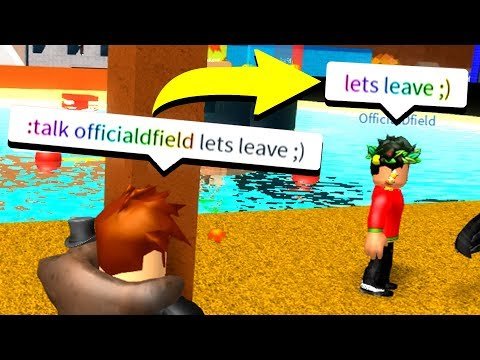 USING ADMIN COMMANDS TO MAKE YOUTUBERS TALK! (Roblox)